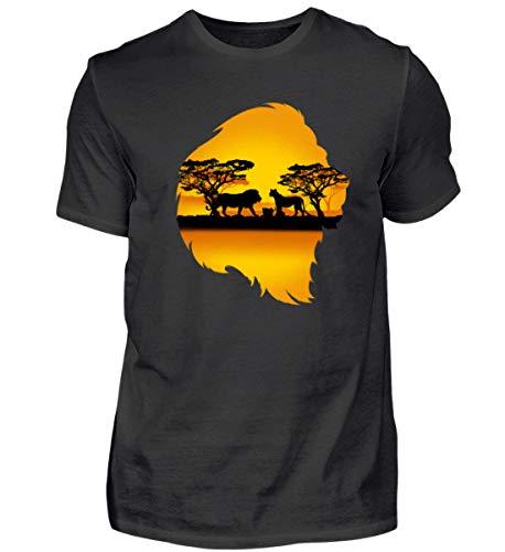 Löwe Safari Tour Kostüm Afrika Urlaub Kostüm Kleidung -