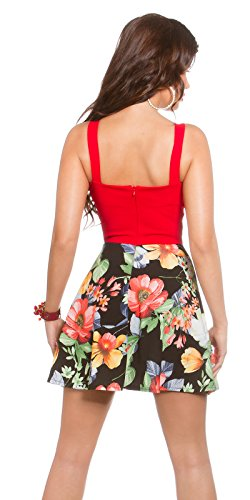 In-stylefashion - Robe - Cocktail - Femme Rouge