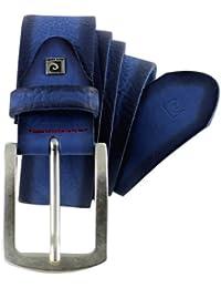 Pierre Cardin -Cinturón para Hombre de color Azul de talla Ver Descripción