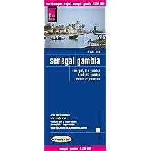 Sénégal, Gambie : 1/550 000