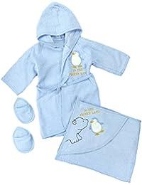 Kinder-Bademantel 104-116 Neu!! Farbe zum Auswahl !!Blau,Creme,Rosa,Weiß Grün