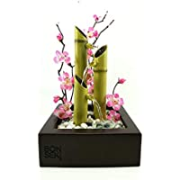 Bonseki® Fontana Zen da interno Made in Italy. Sopri le opzioni.