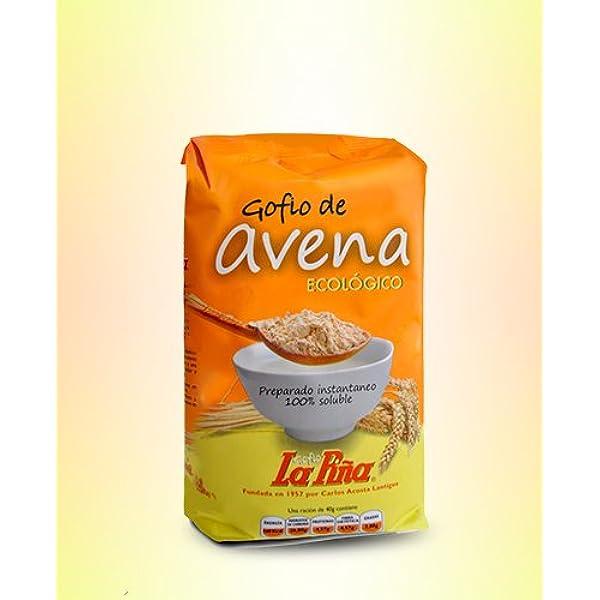 Gofio De Avena Gofio La Piña 450G: Amazon.es: Alimentación y ...