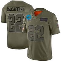 ZJFSL Camiseta NFL Jersey Panteras para Hombre # 22# 59 Camiseta de fútbol Americano Jersey Camiseta de fútbol Ropa Deportiva Jersey Camiseta Deportiva de Manga Corta,A-22,XXXL