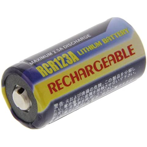 Power Batteria Li-ion tipo CR 123A/CR123A 3V (non originale) per