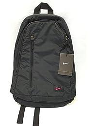 Nike - Mochila casual  Negro negro/rosa