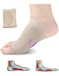 Lify Arch Support Brace - Plantar Fasciitis Sleeves For Pain Relief, Heel Spurs and Flat Feet - (1 Pair)