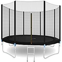 Preisvergleich für MALATEC Gartentrampolin Komplettset Trampolin 305cm Sicherheitsnetz Leiter #5560