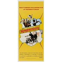 Póster de película knightriders Insert 14x 36in–36cm x 92cm Ed Harris Gary Lahti Tom Savini Amy Ingersoll