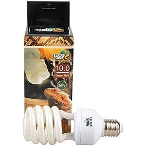 Reptile Kompakt, fluoreszierendes UVA UVB 10.0Glühbirne, 13W, 26W erhältlich