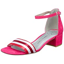 MARCO TOZZI Women's 2-2-28206-22 Ankle Strap Sandals, Pink (Pink Comb 514), 6.5 UK