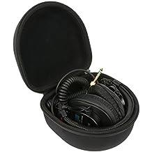 Khanka EVA Funda Estuche Bolso Para Sony MDR-7506/1 /Sony MDRV55R Auriculares de diadema cerrados