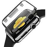 Apple Watch 42mm Coque, Moonmini® Montre Coque Housse étui Protection Case Shell Cover pour Apple Watch 42mm - Noir