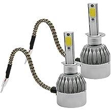 Tripcraft H1 LED COB Luces Delanteras del Coche Kit 3800LM 6000K Lámparas de luz Blanca Bombillas