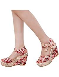 Amazon.es: botines cordones mujer: Zapatos y complementos