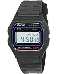 Casio Collection Herrenuhr Digital mit Resinarmband – W-59-1VQES