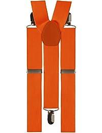 Widmann 79943.–Hosenträger Orange, in Einheitsgröße