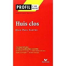 Huis Clos Sarte (Profile Literature)