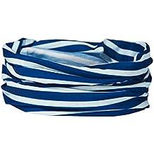 Francés Azul Breton Stripe–Calentador de Cuello–Ruffnek®–Bufanda multifuncional/Snood Talla única para mujer