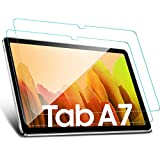 [2 Pack] Benazcap Screen Protector voor nieuwe Samsung Galaxy Tab A7 10.4 Inch 2020, eenvoudige installatie/Anti-Scratch/9H/Clear Front gehard glas