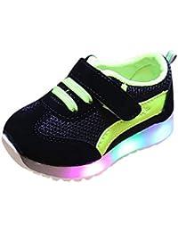FRAUIT Scarpe Bimbo Con Luci Sneakers Bambina Estive Scarpe da Corsa Unisex Bambini  Scarpe da Ginnastica 617cc50fb5b
