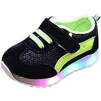 FRAUIT Scarpe Bimbo Con Luci Sneakers Bambina Estive Scarpe da Corsa Unisex Bambini  Scarpe da Ginnastica 765800ca9a9