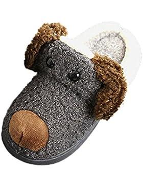 Clode® Kleinkind Baby Mädchen Jungen Plüsch weiche Pantoffel rutschfeste warme Samt Schnee Schuhe