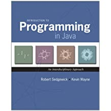 Introduction to Programming in Java: An Interdisciplinary Approach