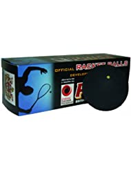 Ransome Racket - Pelota de racketball, color negro