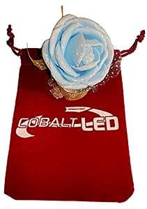 Cobalt® Damigella d' onore da polso, elegante matrimonio fiore di rosa (Bridal Capelli) Blue