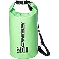 Cressi Dry Bag Mochila Impermeable para Actividades Deportivas, Unisex Adulto, Verde, 10 L