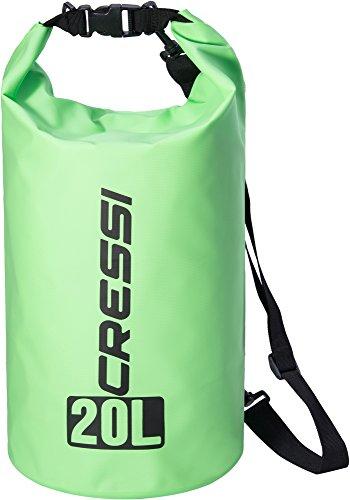 Cressi Dry Bag Mochila Impermeable para Actividades Deportivas, Unisex Adulto, Verde, 20 L