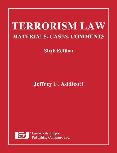 Como Descargar Con Utorrent Terrorism Law, Sixth Edition It Epub