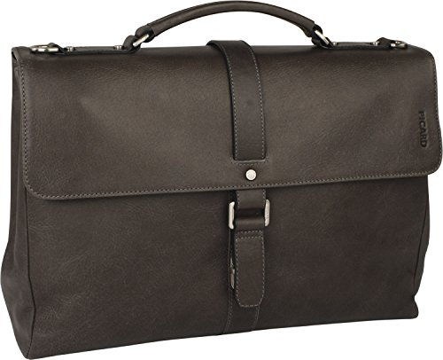 Messenger-Bag Borsa mens Pelle Borsetta Picard Buddy 4305 Nero cognac, braun