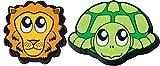 Gamma Schlägerzubehör Zoodamp 2er Schildkröte Löwe Vibrationsdämpfer, Mehrfarbig, S