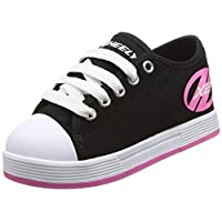 Heelys X2 Fresh - Black/Pink - Size - Junior UK 11 11 UK Child Black / Pink