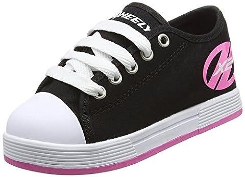 Heelys Fresh 770497, Sneakers basses fille, Black/pink, 38