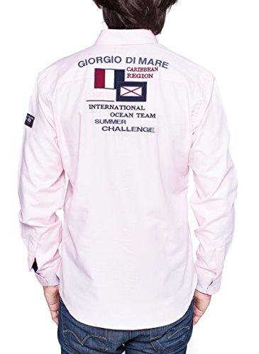 Giorgio Di Mare - Chemise casual - Uni - Homme Rose
