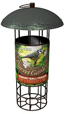 Peckish 17 x 17 x 20 cm Secret Garden Bird Feeder from Westland