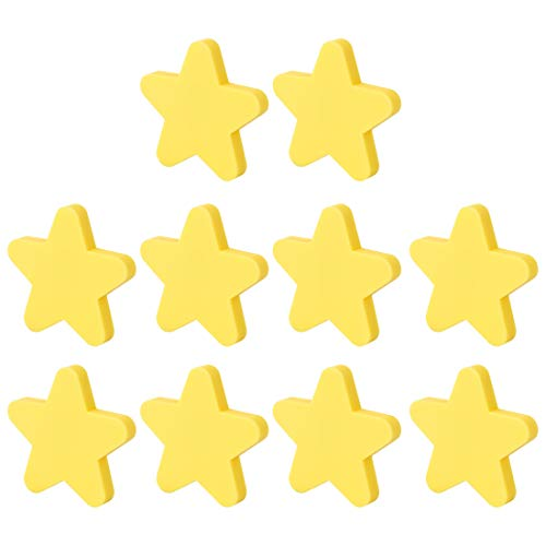 Giplar Infantiles Tiradores de PVC 10 Piezas para habitación Mueble Infantil,51x51x22mm -...