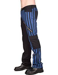 Black Pistol Freak Pants Stripe Denim
