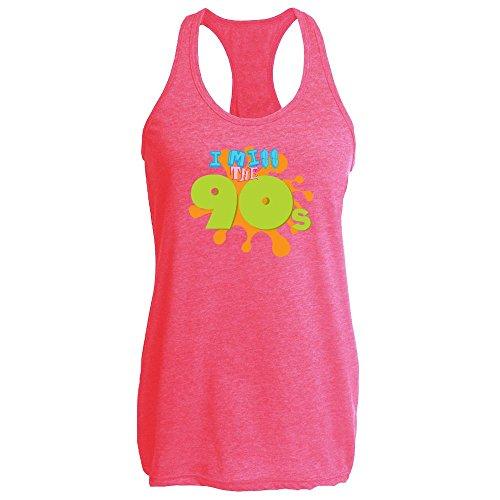 Pop Threads -  T-shirt - Uomo Heather Fuchsia