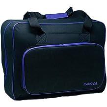 foolsGold Bolsa Acolchada para Transportar la Máquina de Coser (Negro/Púrpura)