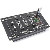 Skytec 172976 - Stm-3020 mezclador de 4 canales con usb/mp3 negro
