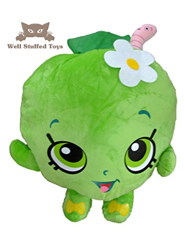 Large Giant Shopkins Apple Blossom Soft Toy Plush 45cm 18""