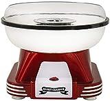 Gadgy ® Maquina de Algodon de Azucar | Retro Cotton Candy Machine | Usar Azúcar Regular de Caramelo Duro Sin Azúcar | 500W Rojo