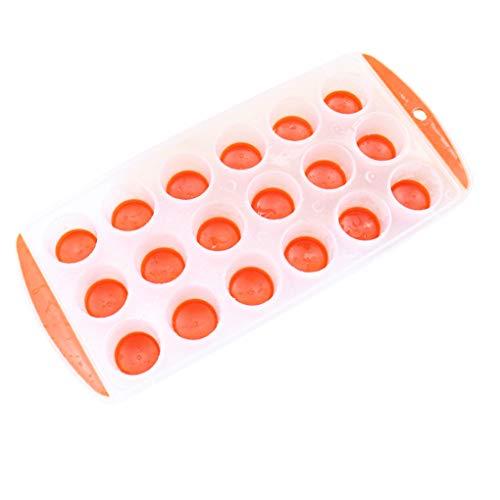 Bodbii Farbe Random reizende Silikon-EIS-Kugel-Würfel-Behälter-Freeze-Mold Bar Jelly Pudding Schokoladen-Form - Silikon-eis-kugel-schimmel
