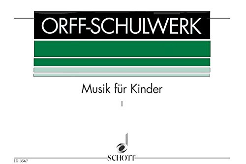 Schulwerk Vol. 1 (Ted.) (Orff/Keetman)
