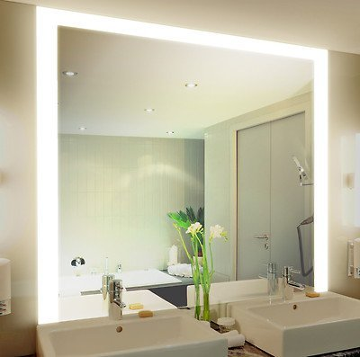 Badspiegel mit Beleuchtung Kadi M314L3: Design Spiegel für ...
