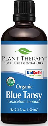 Rainfarn (blau) Bio 100 ml ätherisches Öl 100% reines, Therapeutic Grade - Blaue Rainfarn Ätherisches Öl